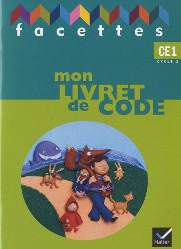Mon livret de code CE1