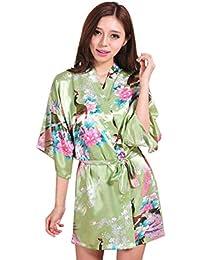 Vestido de Pijamas de Las señoras del Verano del Novio de la Madre del Peony del Maquillaje de la Rebeca de…