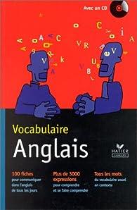 Vocabulaire anglais par Wilfrid Rotgé