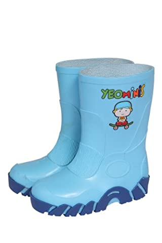Yeominis Size 9 Wellingtons - Blue