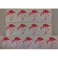 30 x pink flamingo stickers fun for children Africa savannah bird