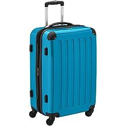 HAUPTSTADTKOFFER - Alex - Valise à coque dure Bleu cyan , TSA, 65 cm, 74 litres