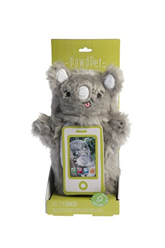 pawdpet Plüsch Schutz-Pals eukie (Koala) Kleine Magnet Halter & Träger für iPhone, iPod Touch, und Mobile Geräte bis 10,2cm Bildschirm Größe -