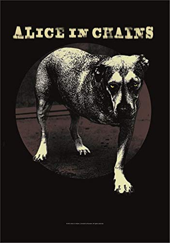 ALICE IN CHAINS FLAGGE FAHNE POSTERFLAGGE THREE LEGGED DOG