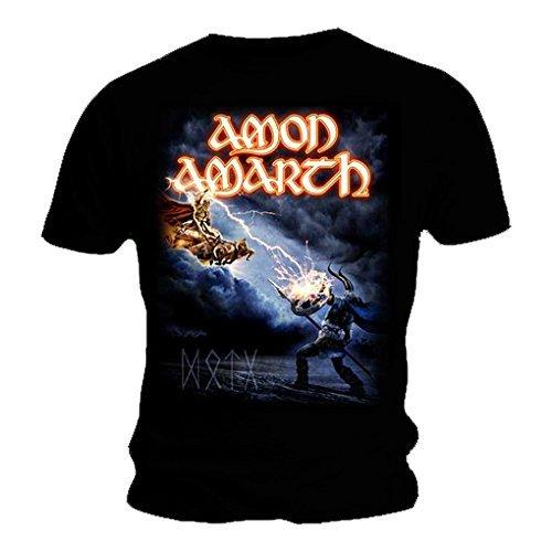 AMON AMARTH-Maglietta ufficiale Metal DECEIVER Death Of Gods, tutte le misure nero Large