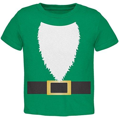 Halloween Rasen Gnome Kostüm grün Kleinkind T Shirt Kelly Green 2 (Kostüm Gnome Halloween Lawn)
