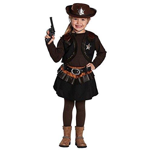 Cowgirl Kind Halloween Kostüm (Kinder Kostüm Cowgirl Cowboy Mädchen Karneval Fasching)