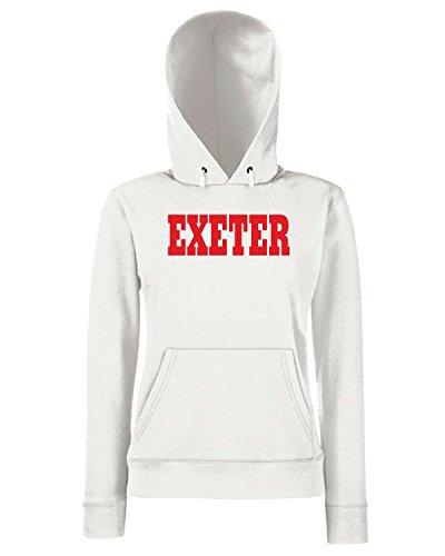 T-Shirtshock - Sweats a capuche Femme WC0724 EXETER Blanc