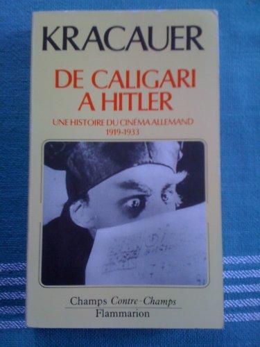 De Caligari à Hitler : Une histoire psychologique du cinéma allemand 1919-1933