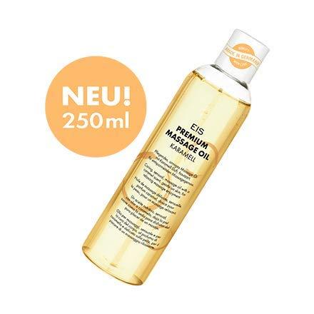 Premium Massageöl von EIS, Erotik-Massage, Karamell-Aroma, 250 ml