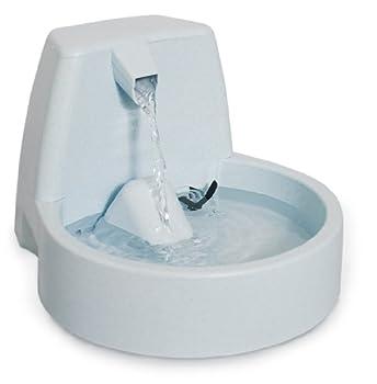 PetSafe - Fontaine Cascade Drinkwell Original 1.5 L pour Chien et Chat - Débit réglable - Retient les Odeurs et Bactéries