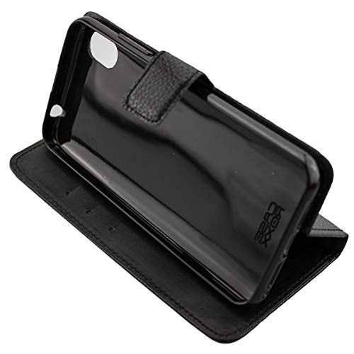Coque pour Gigaset GS110, Bookstyle-Case Étui de Protection Antichoc pour Smartphone (Coque de Coloris Noir)