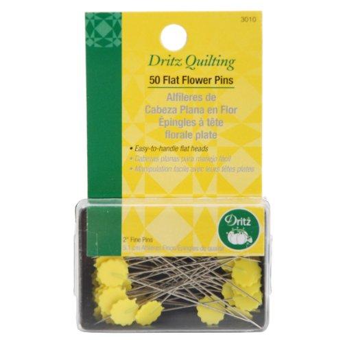 Dritz verschiedenen Quilting Flat Flower pins-Size 3250/Pkg -