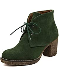 Grüne Timberland Ankle Boots ALLINGTON 6IN LACE 41: Amazon