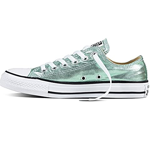 Converse CT AS OX Chuck Taylor All Star metallic grün (36) (Chuck Taylor Metallic Lo Top)