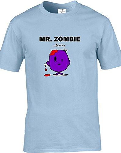 Eat Sleep Shop Repeat -  T-shirt - Uomo Light Blue