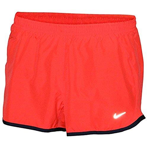 Nike 5K Tempo DRI-FIT Laufshorts Orange-Rot (Shorts Rise Nike Low)