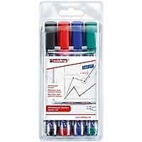 4 edding Whiteboard-Marker 360 farbsortiert, Büro>Büromaterial, Moderationsmarker (Flipchart- u. Boardmarker)