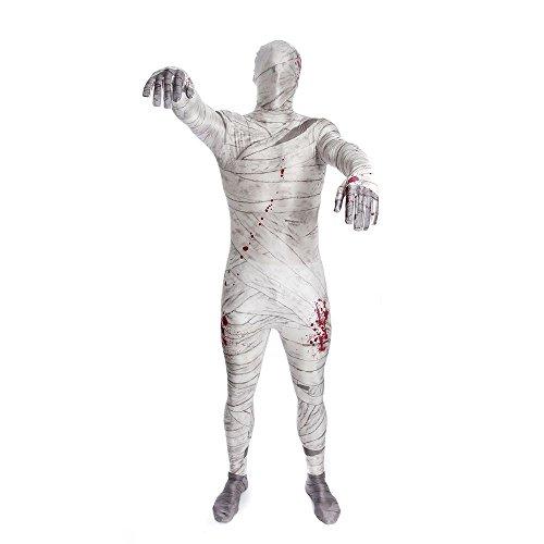 Mummia Morphsuit Costume tutto il corpo Second Skin L (corporatura: 165-180 cm