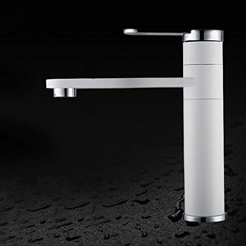 Tous Hot Copper Et Bassin d'eau froide Robinet Salle de bains Simple Pour robinet de bassin Taiwan toilette peuvent être Rotating Faucet Éviers