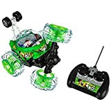 """ShoppoZone Rechargeable Big Size 360' Rotating Remote Control """" BEN 10 """" Stunt Car With Light And Music"""