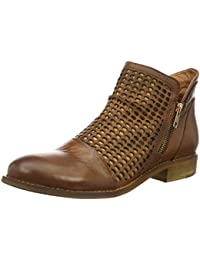 Buffalo London Damen Es 30899 Sauvage Perfurado Kurzschaft Stiefel
