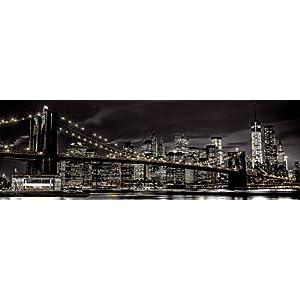 GB eye Bilderrahmen Jumbo 53 x 158 cm New York Türposter Assaf Frank