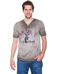 Krüger - Herren Trachten T-Shirt, Auf der Pirsch (Artikelnummer  92206- f95af174ea