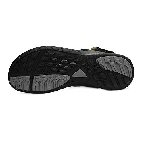 Grition Sandales Sport Pour Homme Noir