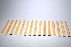Sommier à lattes en bois massif 200 x 120 cm