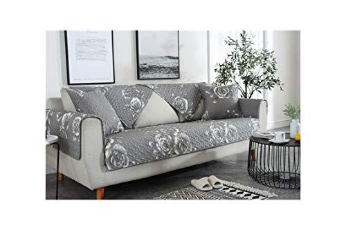 HGblossom Schwarz Streifen Sofa Schonbezüge Couch Möbelbezüge Für Schnittsofa rutschfeste Dicke Sofa Abdeckung Handtuch B 90X210 cm 1 Stücke -