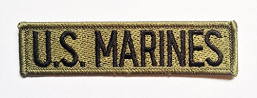 ecusson-us-marines-army-noir-112x29cm-patches-brode-appliques-embroidery-thermocollant