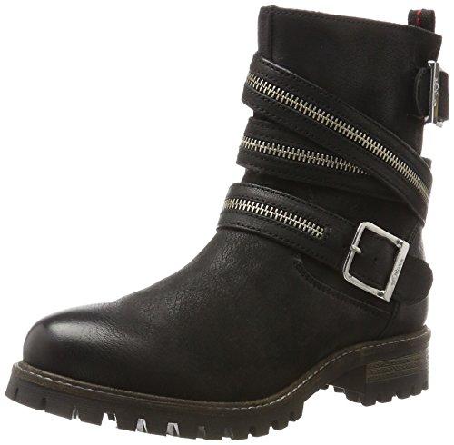 s.Oliver Damen 25455 Biker Boots, Schwarz (Black), 37 ()