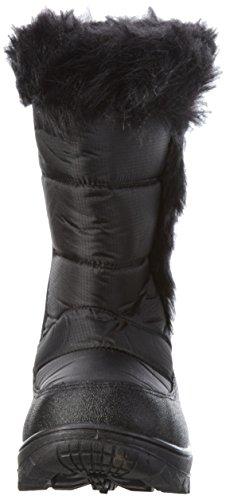 Nebulus Snowboots Luna, Bottes et bottines à doublure chaude femme Noir (001)