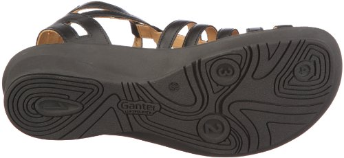 Ganter Fairy Weite F 1-203141-0200, Sandales mode femme Noir - V.6