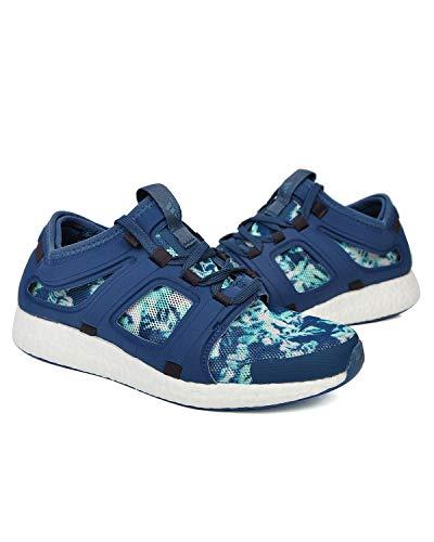 adidas Climachill CC Rocket Boost AQ5272 Damen Running Walking Laufschuhe, Blau, 40 EU