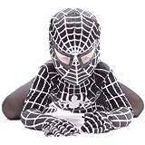 De Lujo Niños 'Venom' Súper Hero Araña (Negro) (7-9 años)
