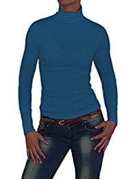 """S&LU toller Damen """"Basic-Rolli"""" Rollkragen-Langarm-Shirt in in vielen schönen Farben wahlweise in Größe 34-38 oder 40-44"""