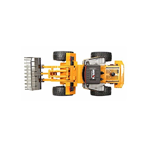 RC Auto kaufen Baufahrzeug Bild 3: 2.4GHz RC ferngesteuerter Bagger Baustellen-Fahrzeug, Modell mit viele Metallbauteile, schwenkbarer Schaufel Radlader, Ready-To-Drive, Komplett-Set RTR*