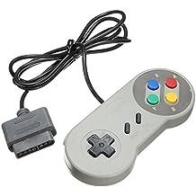 TRIXES Cojín de Juegos Retro SNES (Sistema de Entretenimiento Súper Nintendo) Compatible con Controlador de Reemplazo