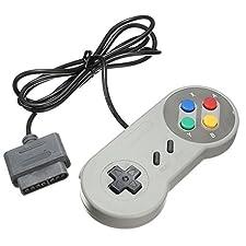 TRIXES Retro SNES Kompatibler Ersatz Controller Gamepad