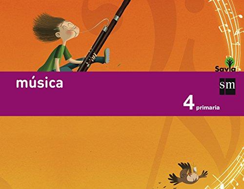 Música. 4 Primaria. Savia - 9788467575590 por Ángel Müller Gómez