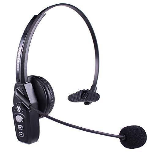 Arama JBT800 Auricular Bluetooth con Micrófono y Bluetooth 5.0, Audífonos Inalámbricos Para Oficina, Auricular Para Teléfono Celular, Skype, Conductor de Camión, Centro de Llamadas, Oficina