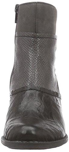 Rieker Z7673, Bottines avec doublure intérieure femme Noir - Schwarz (schwarz/stromboli/fumo / 00)
