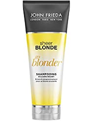 JOHN FRIEDA Sheer Blonde Go Blonder Shampooing Éclaircissant 250 ml