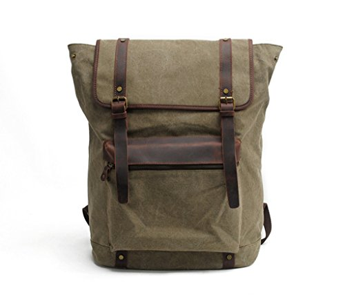 Lixmee - Borsa a Zainetto donna _20 Army Green