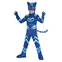 Deluxe Catboy Boys Fancy Dress PJ Masks Superhero Animal Kids Childrens Costume