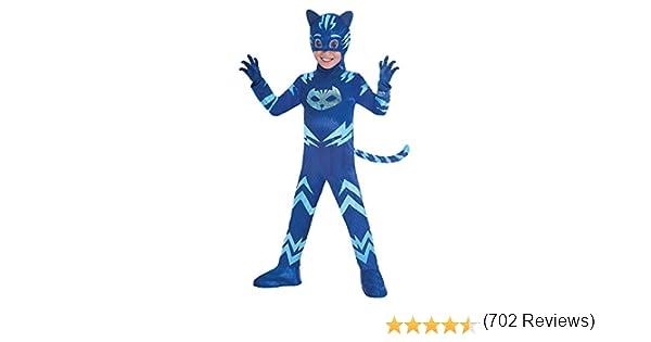 7/am9902965 Amscan Costume PJ Mask Cat Boy luxe 5//–/6/ans multicolore
