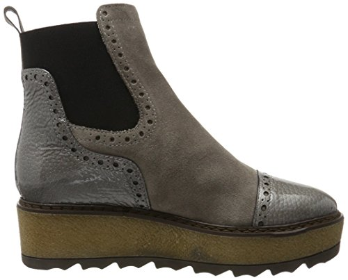 MANAS Damen 172m5008swolq Chelsea Boots Grau (Fumo+Road)
