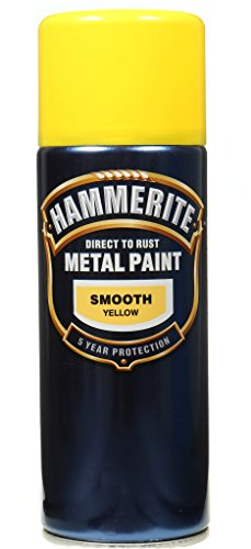 Hammerite Metallfarben-glatte Gelb 400 ml Aerosol